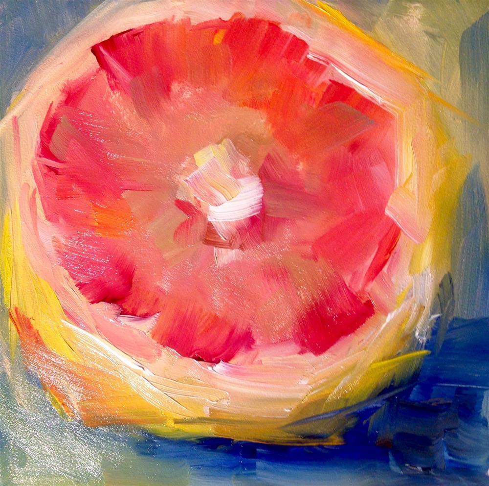 """Grapefruit Study"" original fine art by Sue Churchgrant"