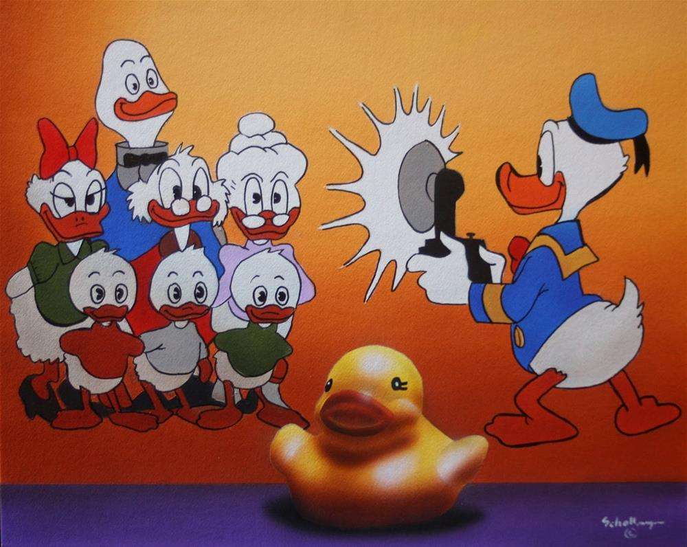 """Everything's Just Ducky"" original fine art by Fred Schollmeyer"