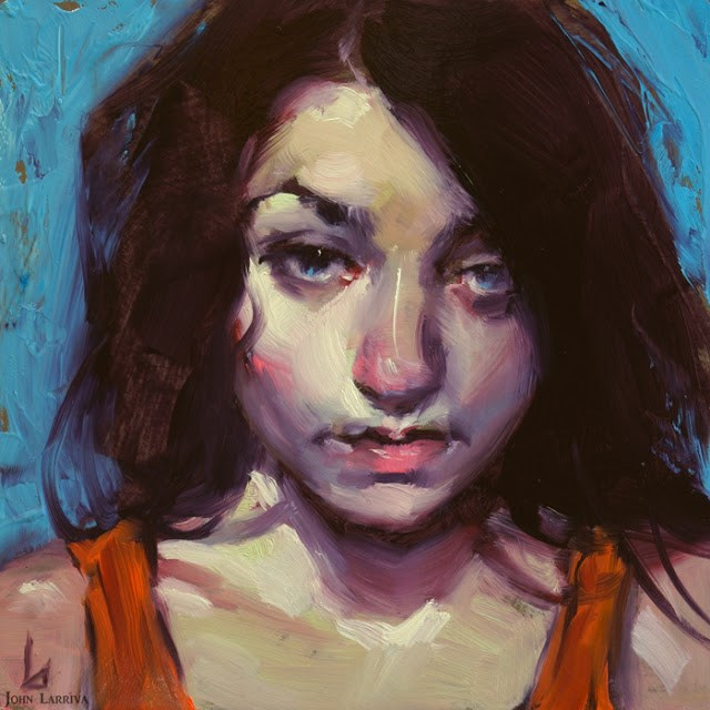 """Cynic"" original fine art by John Larriva"