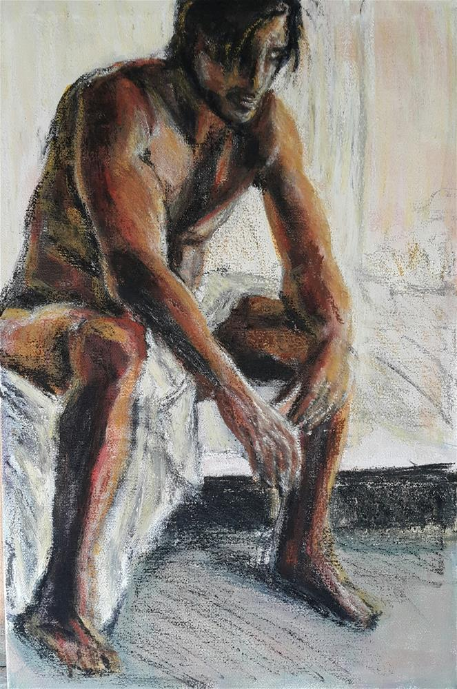 """The morning after"" original fine art by Rentia Coetzee"