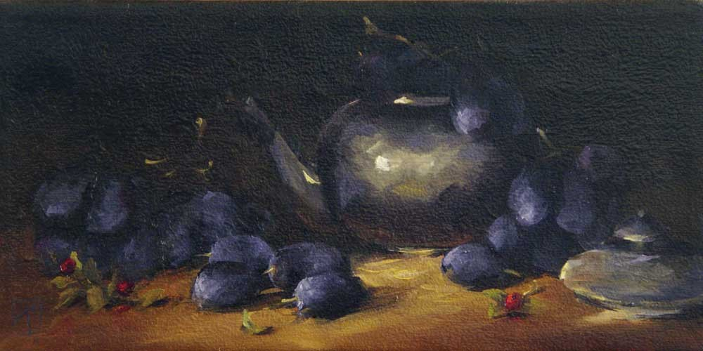 """Good Night"" original fine art by Lori Twiggs"
