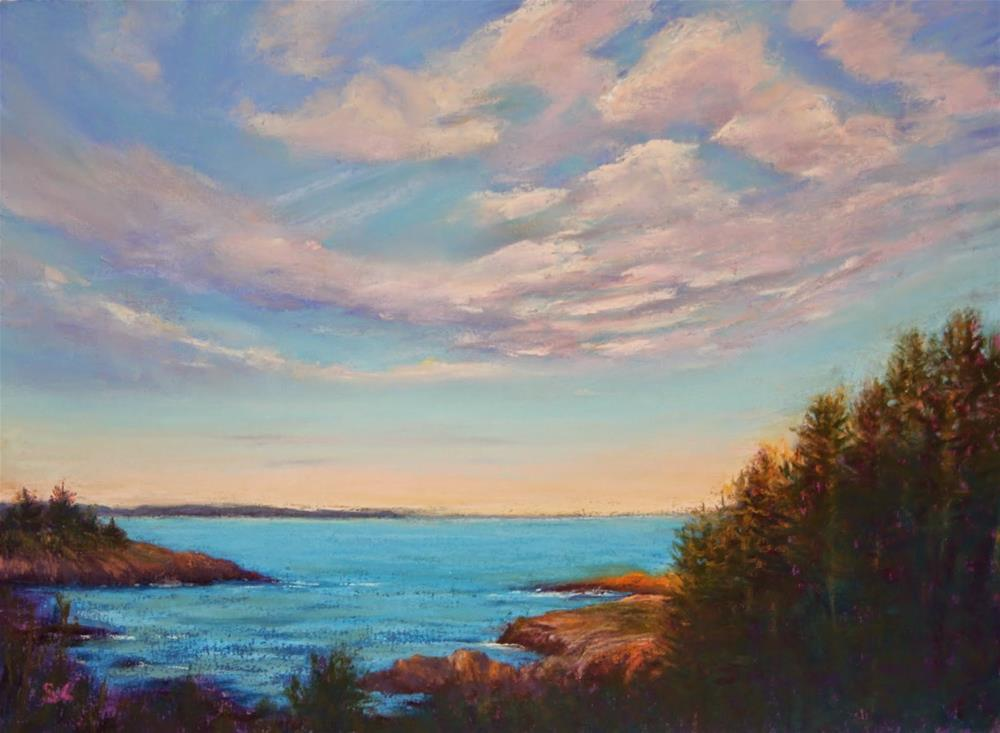 """""""Close of Day"""" original fine art by Sharon Lewis"""