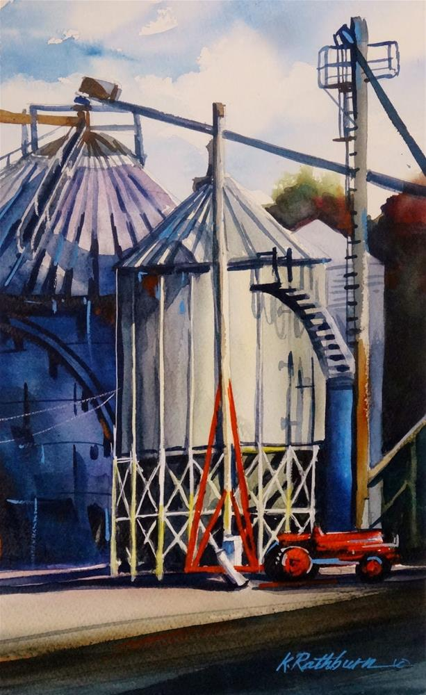 """Insiuhts on Industry VI"" original fine art by Kathy Los-Rathburn"