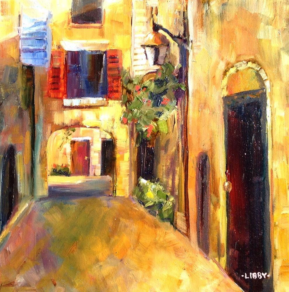 """""""Sienna Street"""" original fine art by Libby Anderson"""