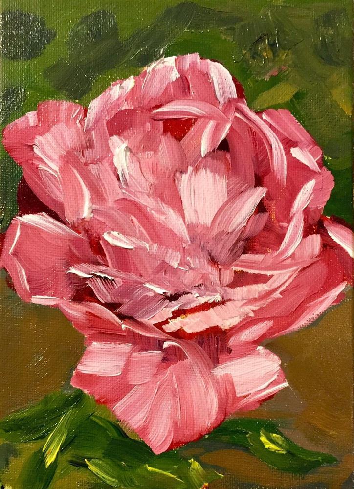 """Ima's Rose"" original fine art by Renee Robison"