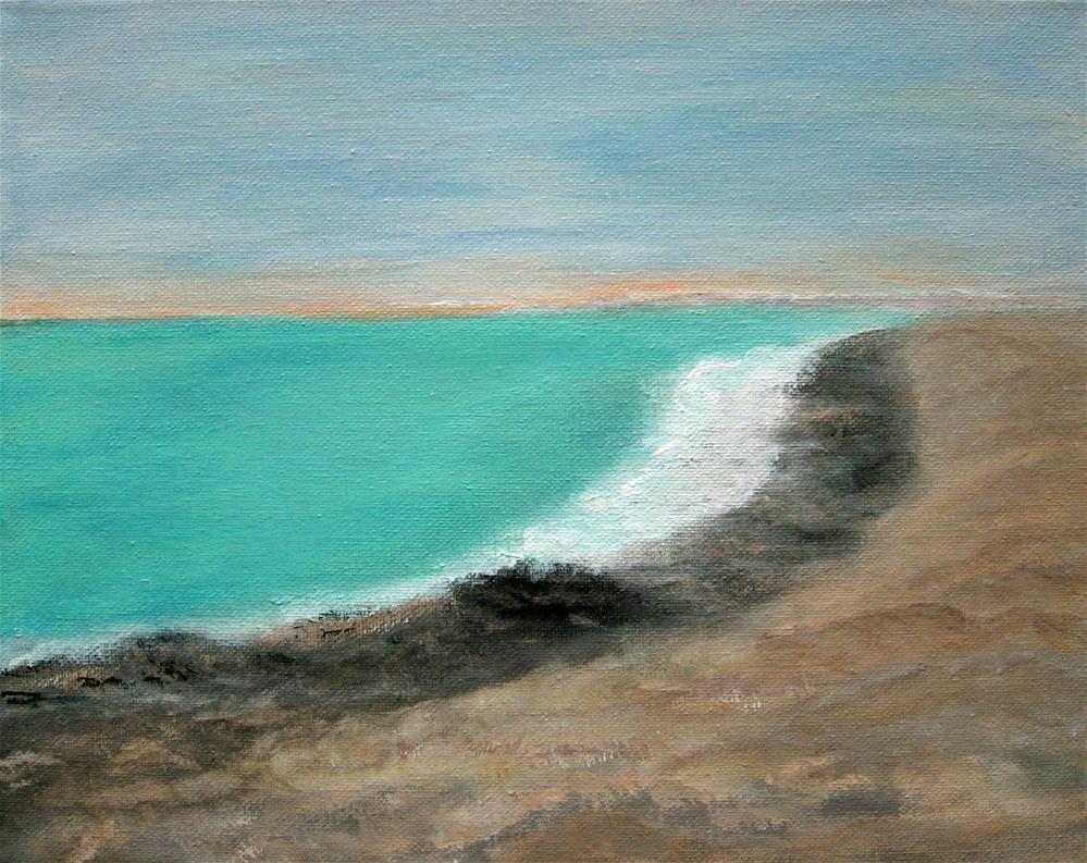 """Green Water"" original fine art by Alina Frent"