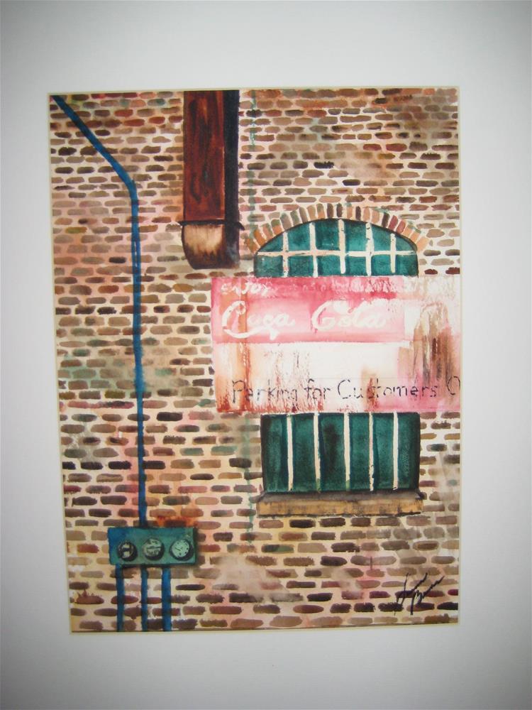 """""""Coca Cola"""" original fine art by Susan Brens"""