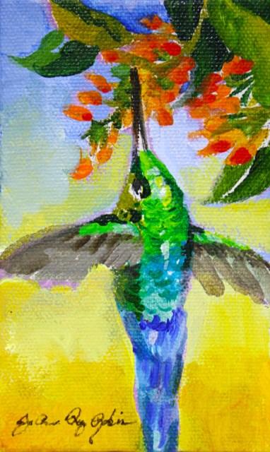 """Inspirational"" original fine art by JoAnne Perez Robinson"