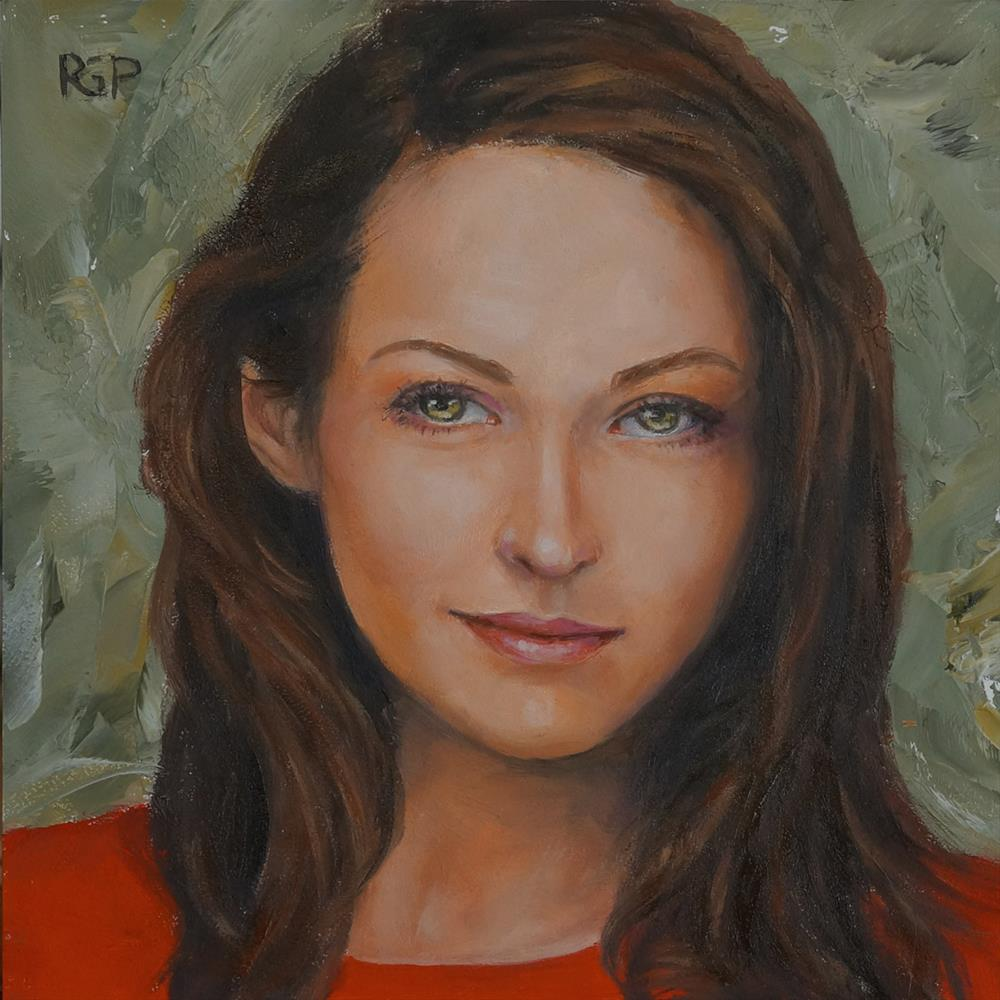 """Russian Beauty"" original fine art by Rhea  Groepper Pettit"