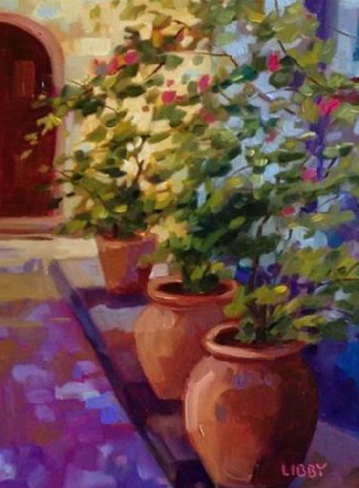 """""""Count of Three"""" original fine art by Libby Anderson"""