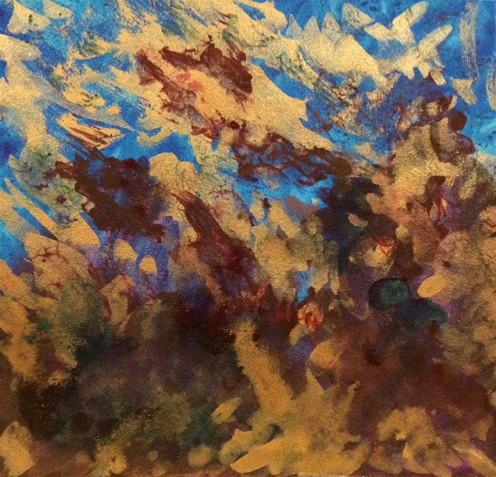 """""""Clash"""" original fine art by Susan Medyn"""