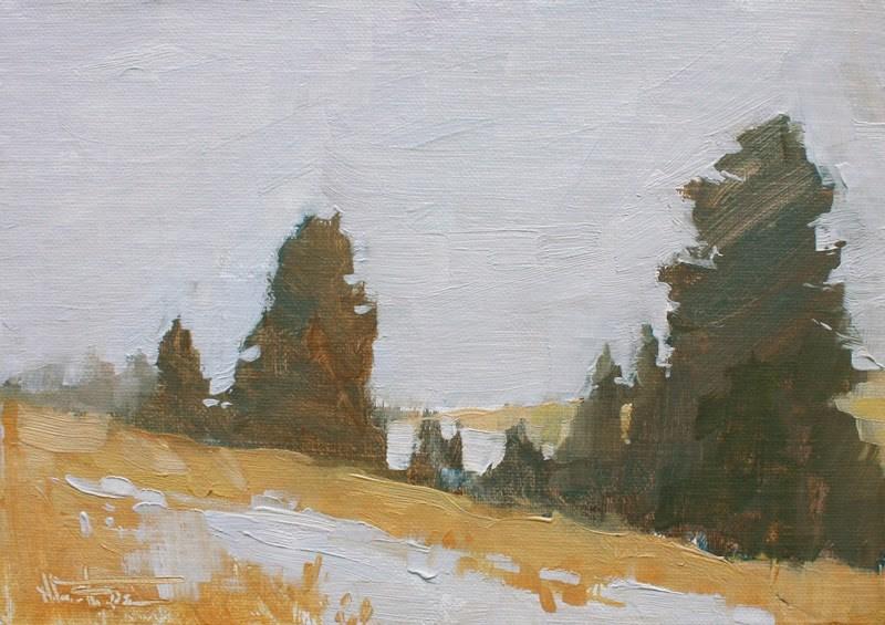 """In the Trees"" original fine art by Melanie Thompson"