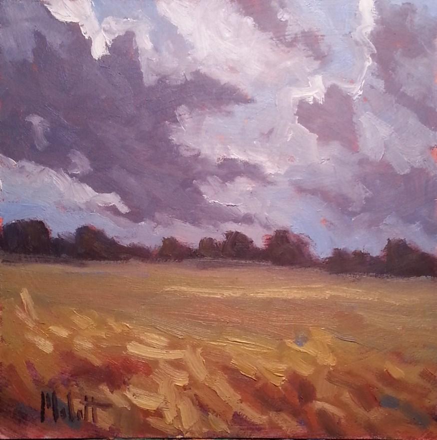 """Dramatic Skies Contemporary Impressionism Original Art"" original fine art by Heidi Malott"