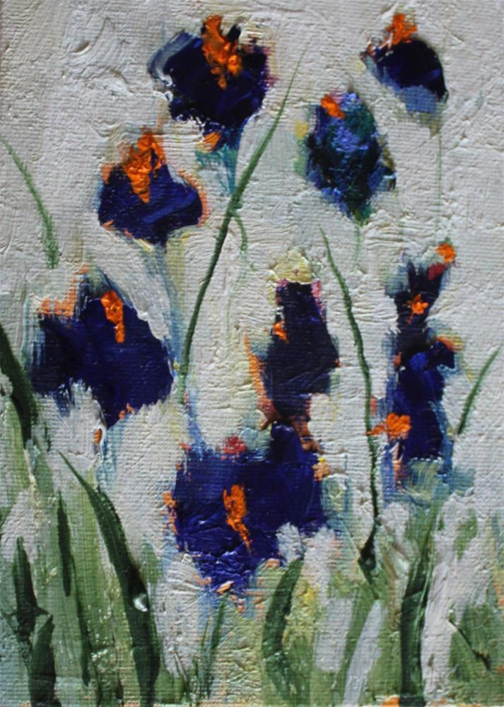 """""""Spring 7, Contemporary Floral Paintings by Amy Whitehouse"""" original fine art by Amy Whitehouse"""