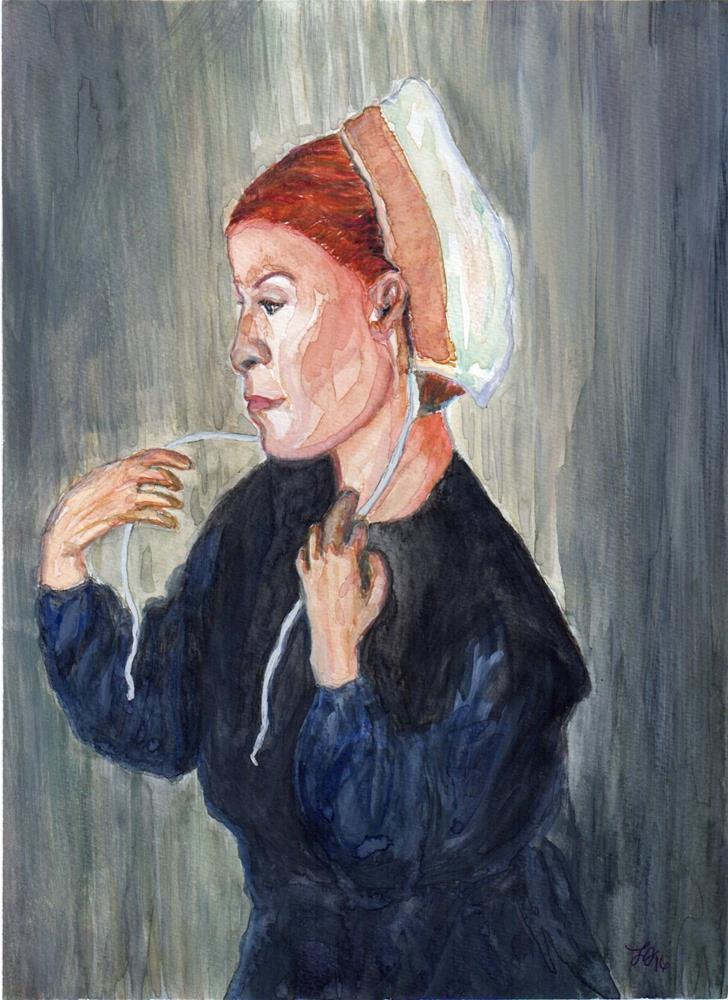 """""""Undone"""" original fine art by Laura Denning"""