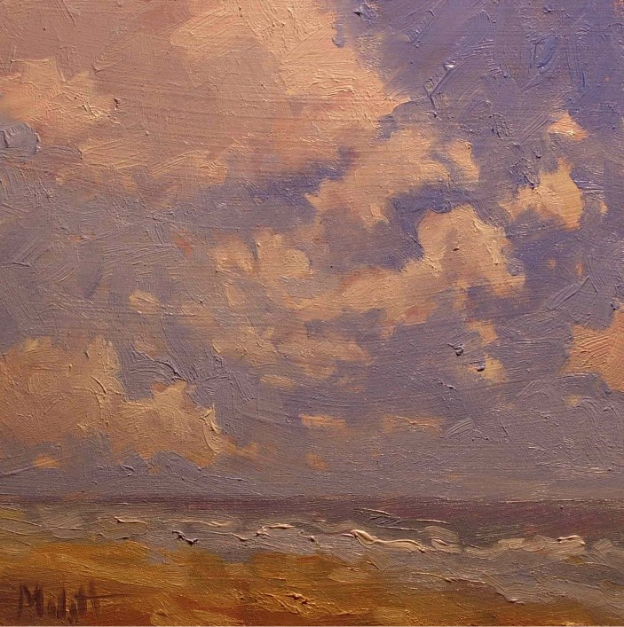 """$80 Special The Beach Life Original Oil Painting from 2008"" original fine art by Heidi Malott"