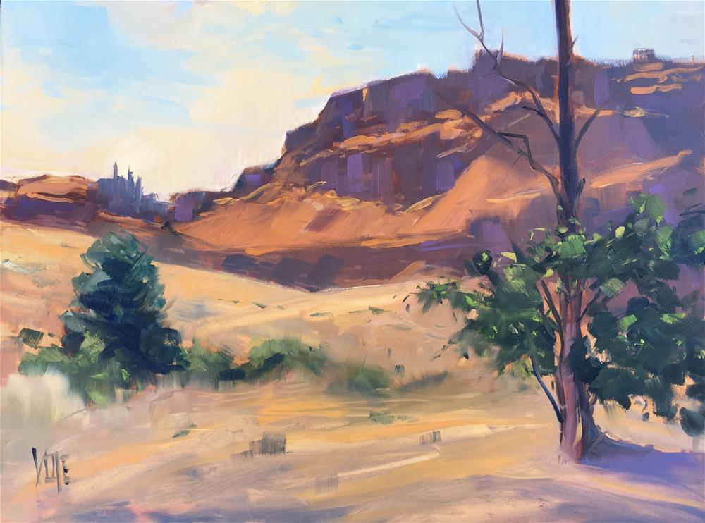 """Columbia Hills Park"" original fine art by Patty Voje"