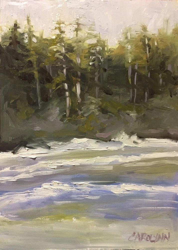 """""""Cox Bay Tofino II"""" original fine art by Carolynn Doan"""