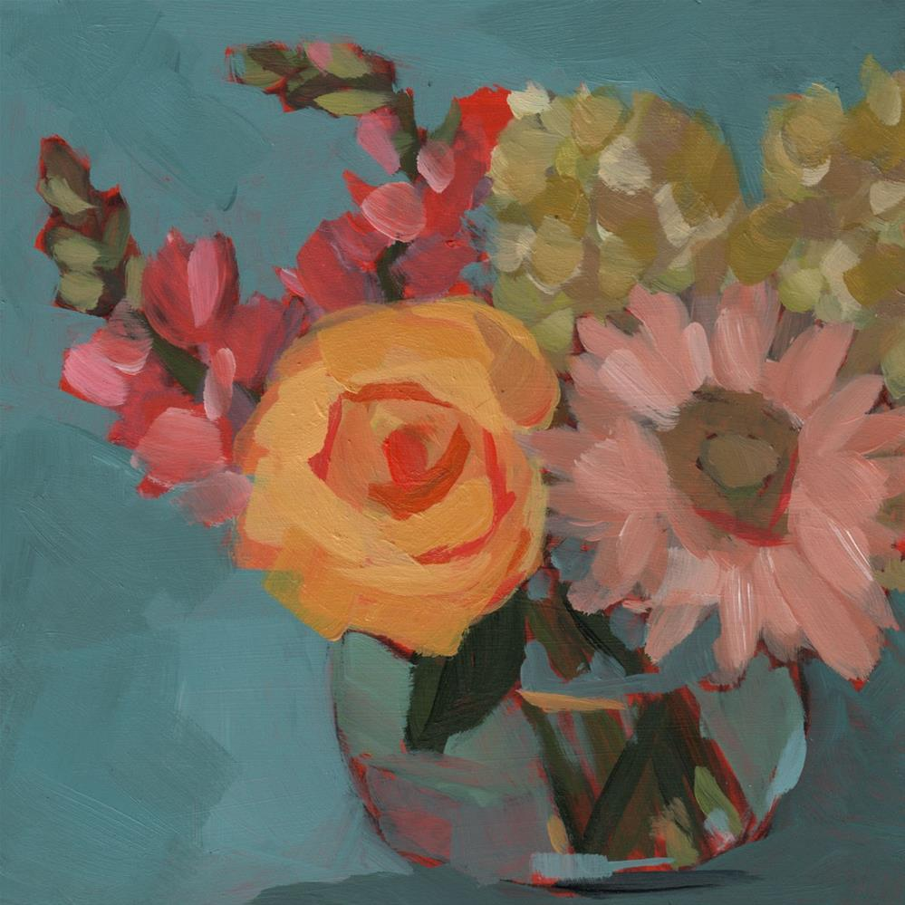 """Mother's Day Bouquet (#427)"" original fine art by Debbie Miller"