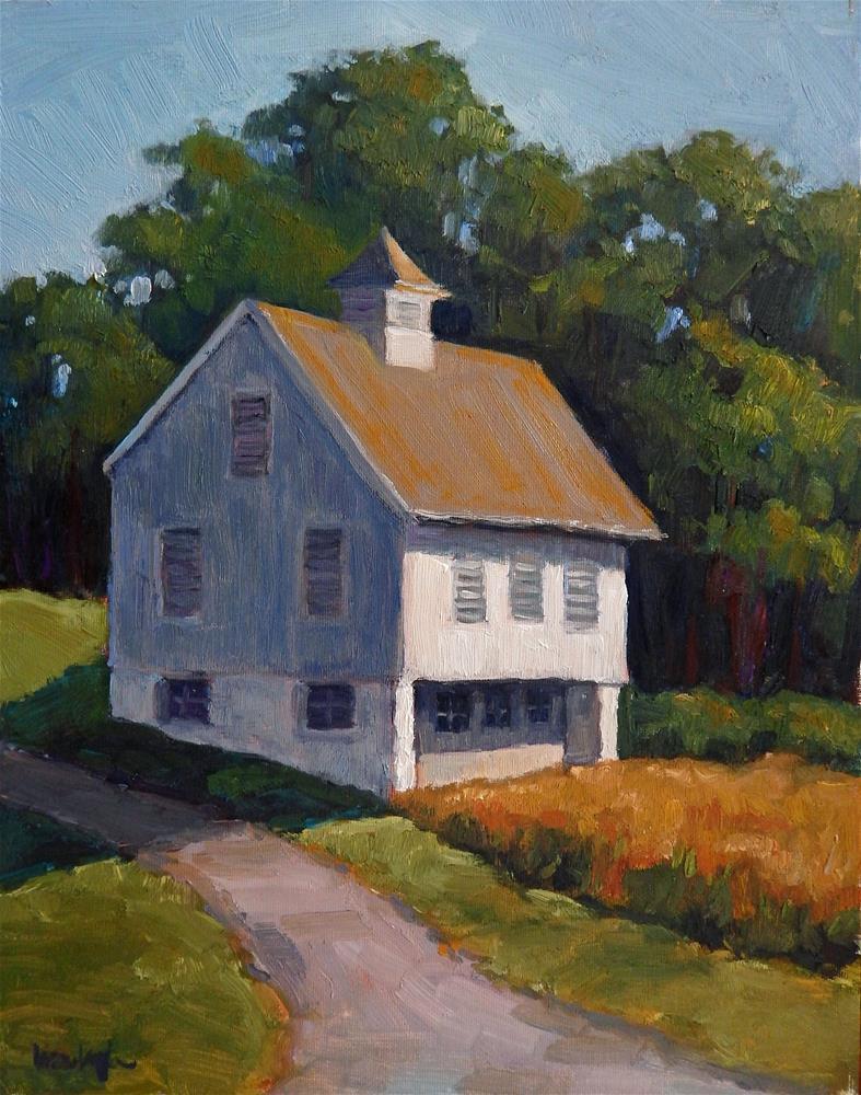 """At the Apple Farm"" original fine art by Lisa Kyle"
