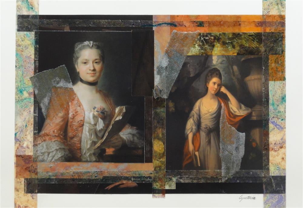 """Women Who Read 3"" original fine art by Cynthia Frigon"