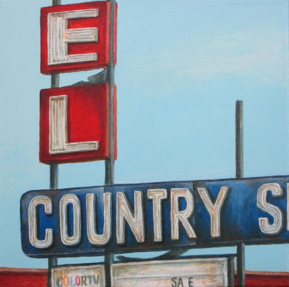 """""""El Country"""" original fine art by Debbie Shirley"""