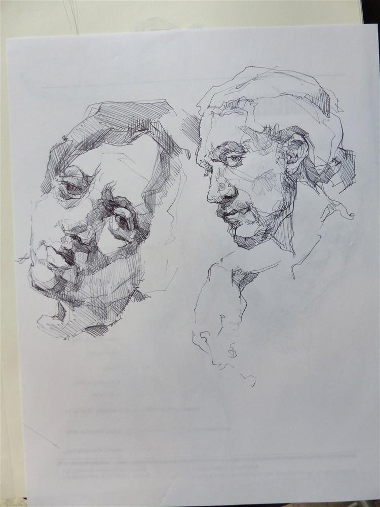 """sketchbook79"" original fine art by Katya Minkina"
