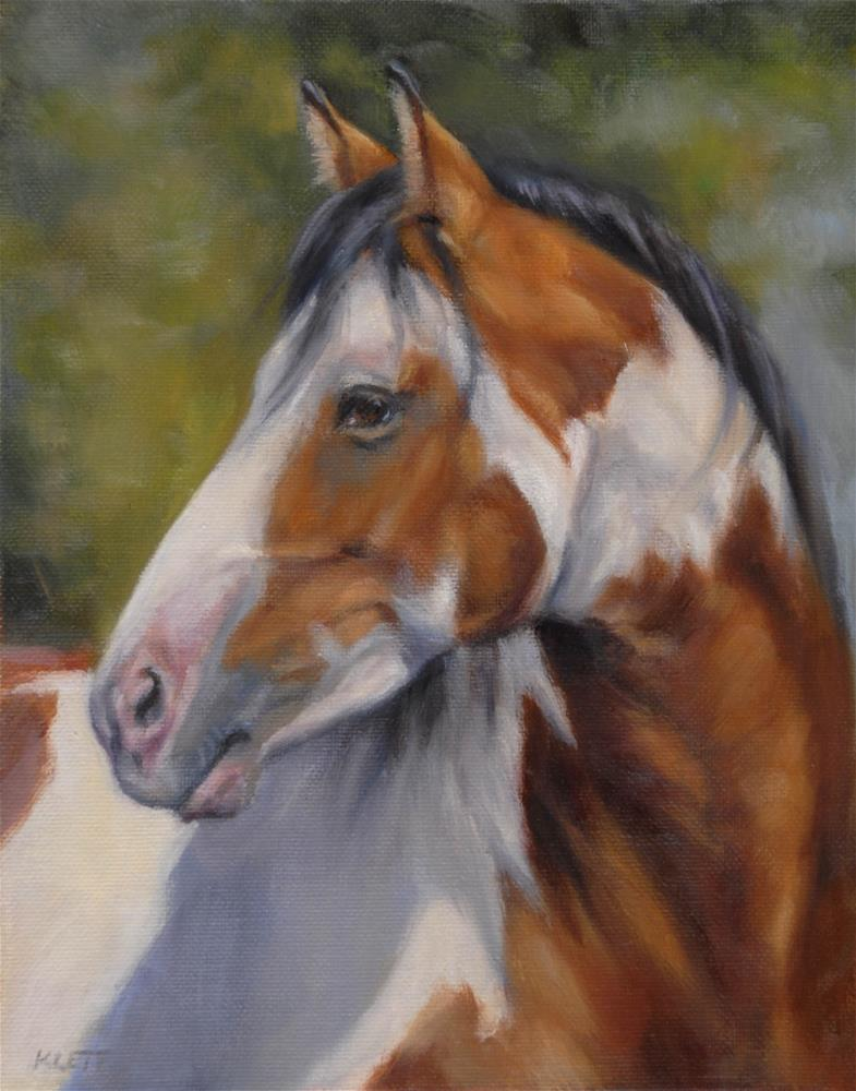 """Paint Horse"" original fine art by Tracy Klett"