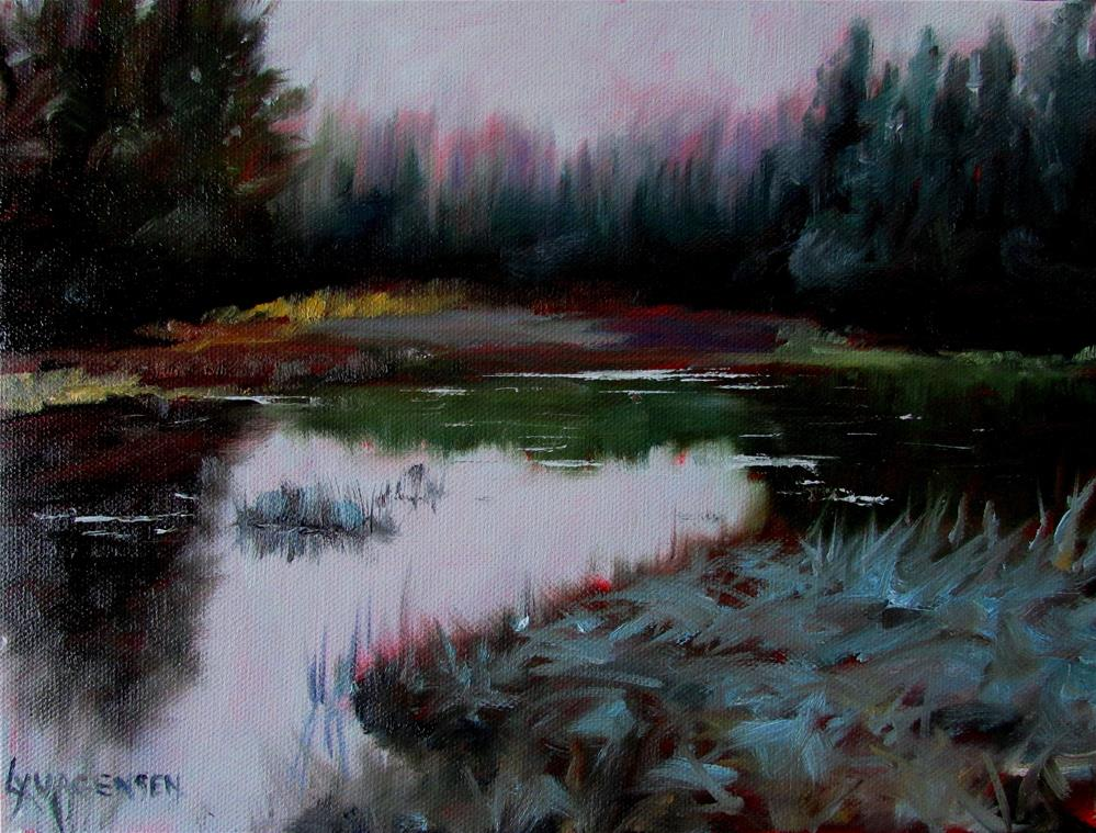 """9 x 12 inch oil"" original fine art by Linda Yurgensen"