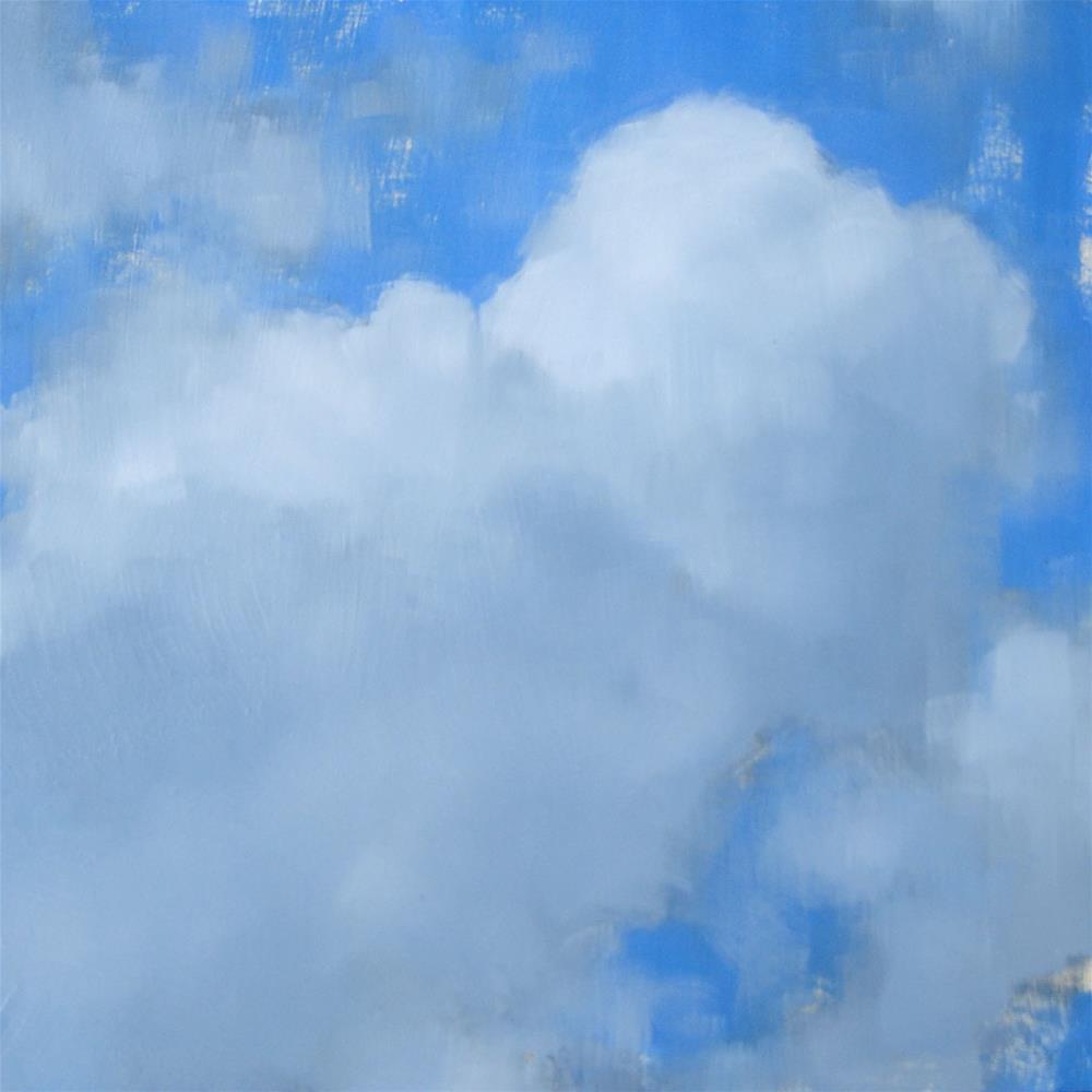 """""""Cumulus Cloud (no.76)"""" original fine art by Michael William"""