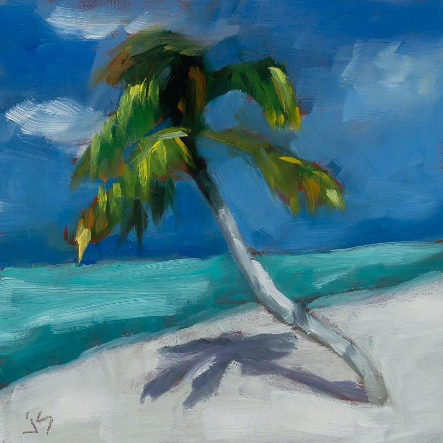 """""""Is It Summer Yet?"""" original fine art by Johnna Schelling"""
