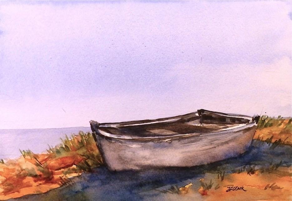"""Stranded"" original fine art by Judith Freeman Clark"