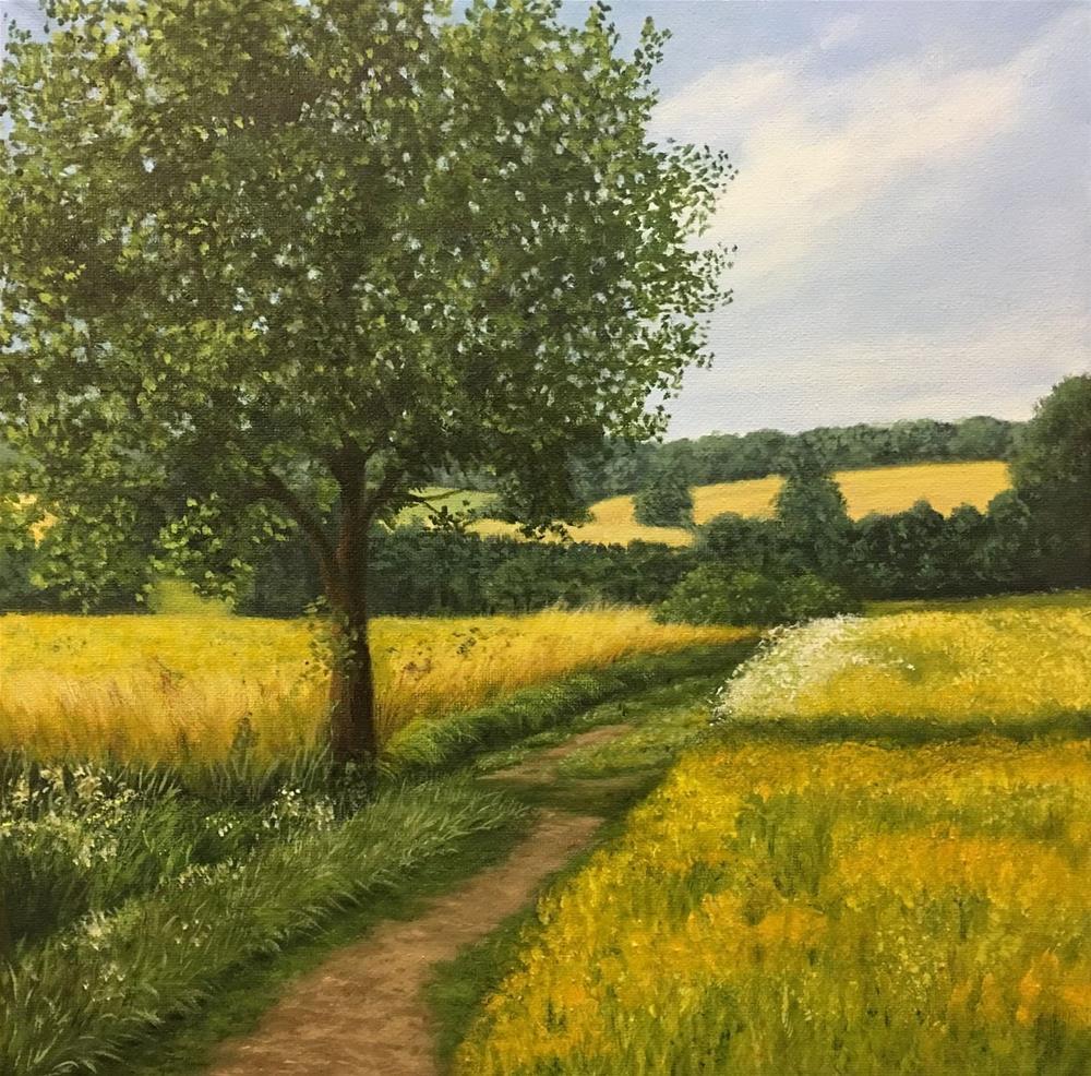 """Sunny Day"" original fine art by Elizabeth Elgin"