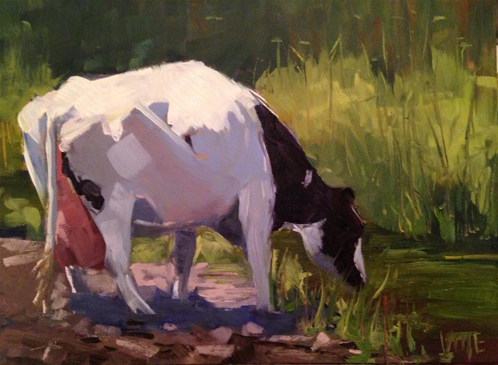 """#124 The Good Life"" original fine art by Patty Voje"