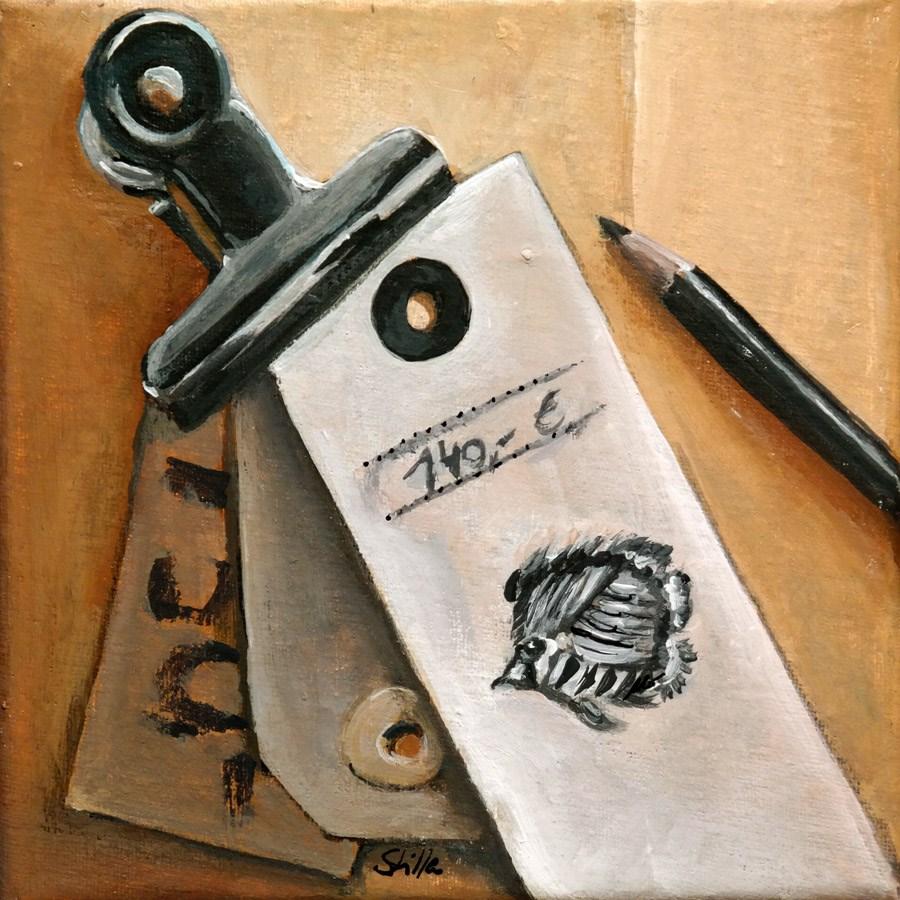 """""""1569 Clip"""" original fine art by Dietmar Stiller"""