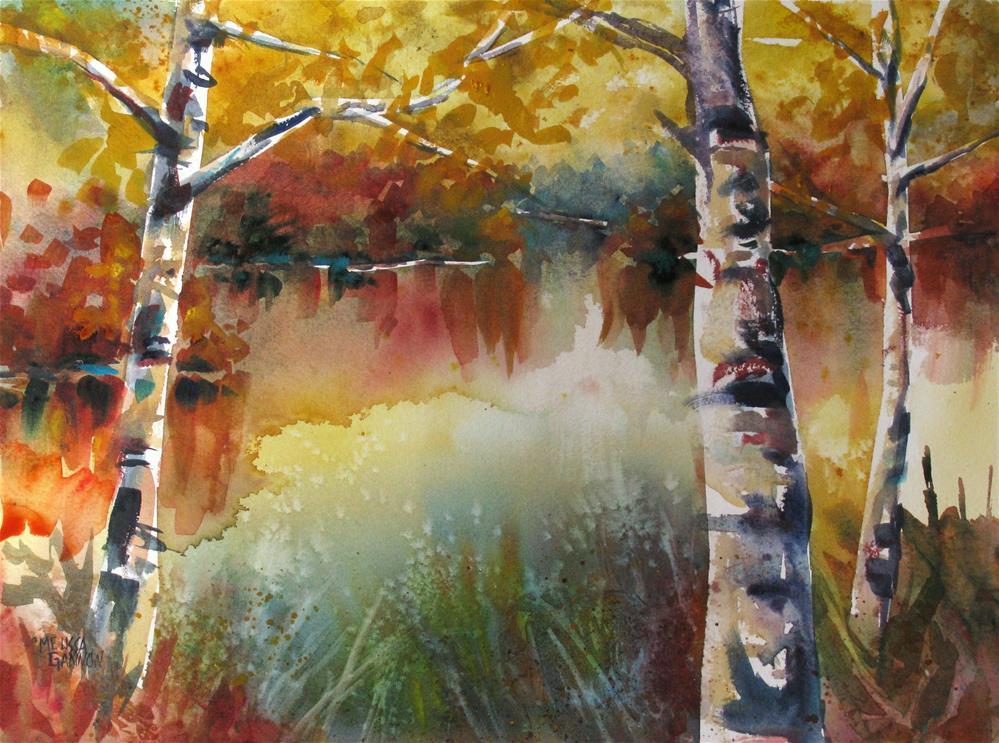 """""""A Moment of Stillness"""" original fine art by Melissa Gannon"""