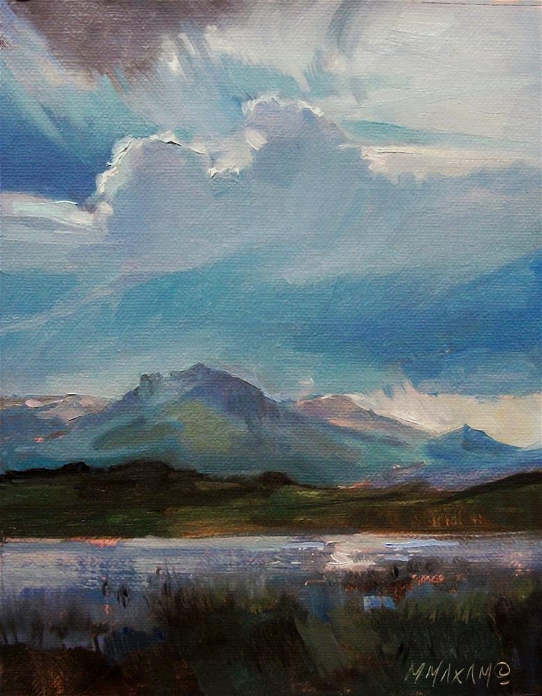 """""""After The Storm"""" original fine art by Mary Maxam"""