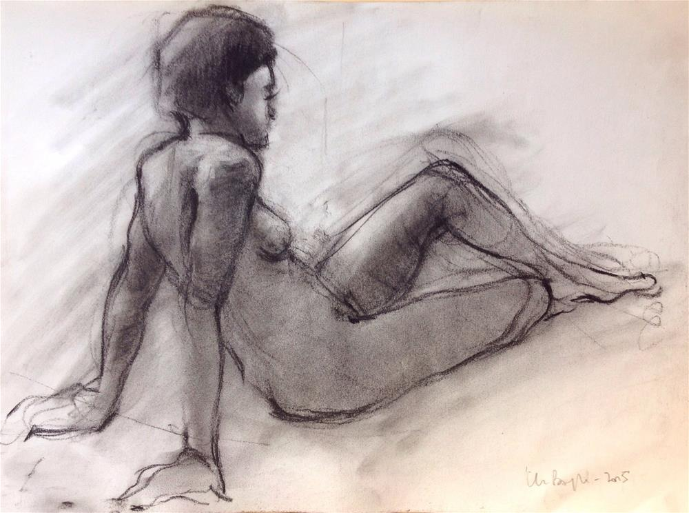 """Life study 2"" original fine art by Christine Bayle"