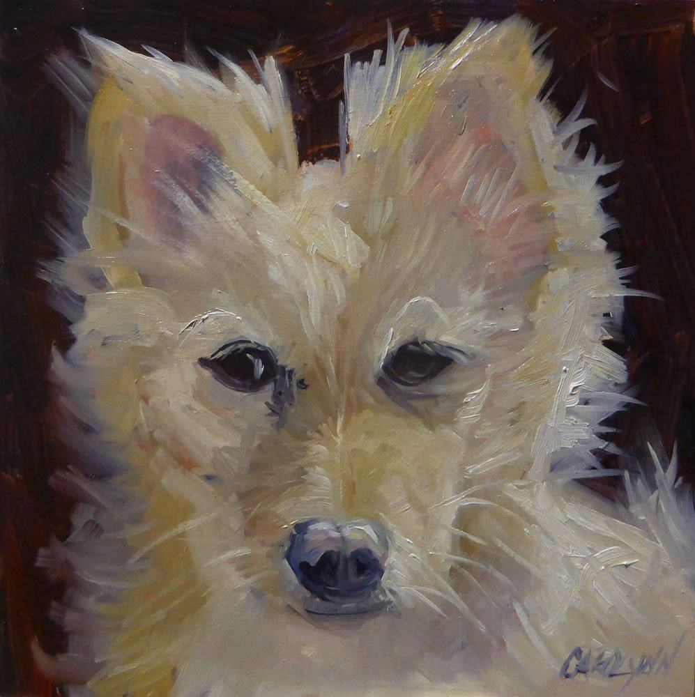 """""""Kitty"""" original fine art by Carolynn Doan"""