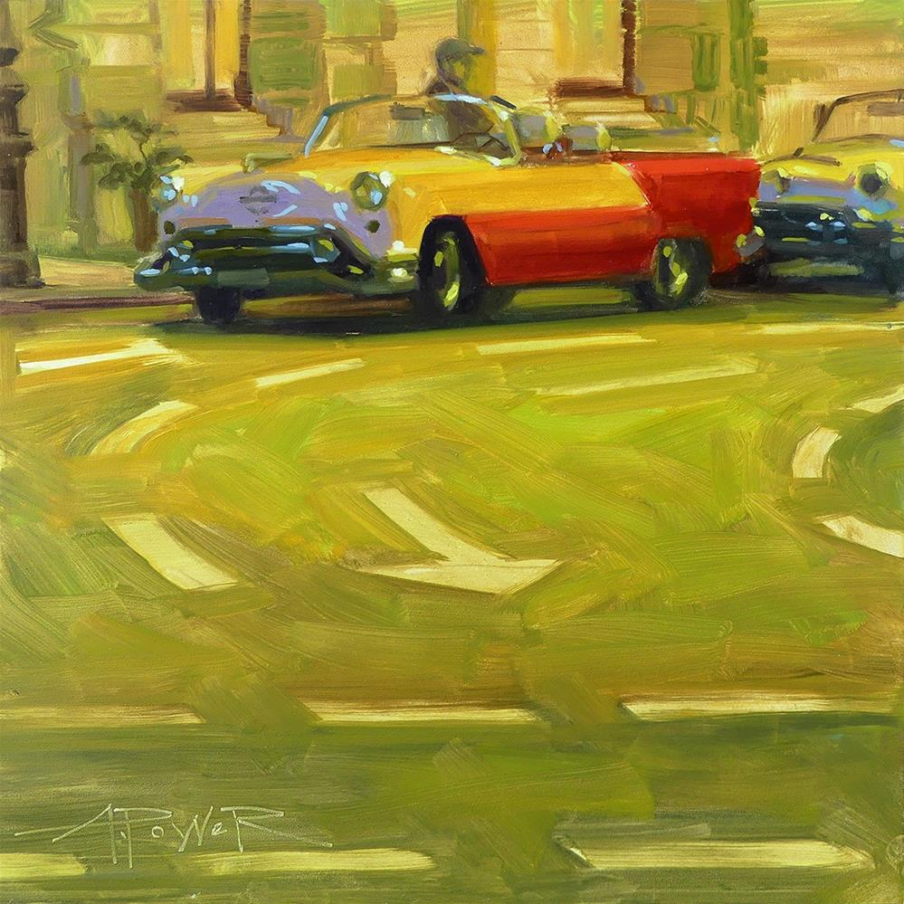 """Car Sketching - 8 of 30 - Havana to Home"" original fine art by Anette Power"