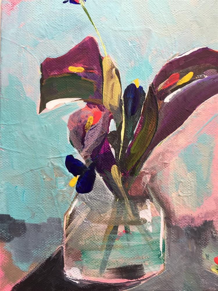 """0030CallaLilies"" original fine art by Jenny Doh"