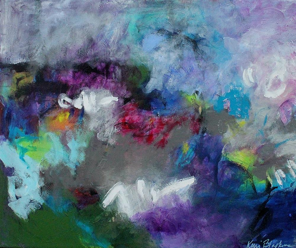 """""""A Land that I Know and Search For"""" original fine art by Kerri Blackman"""