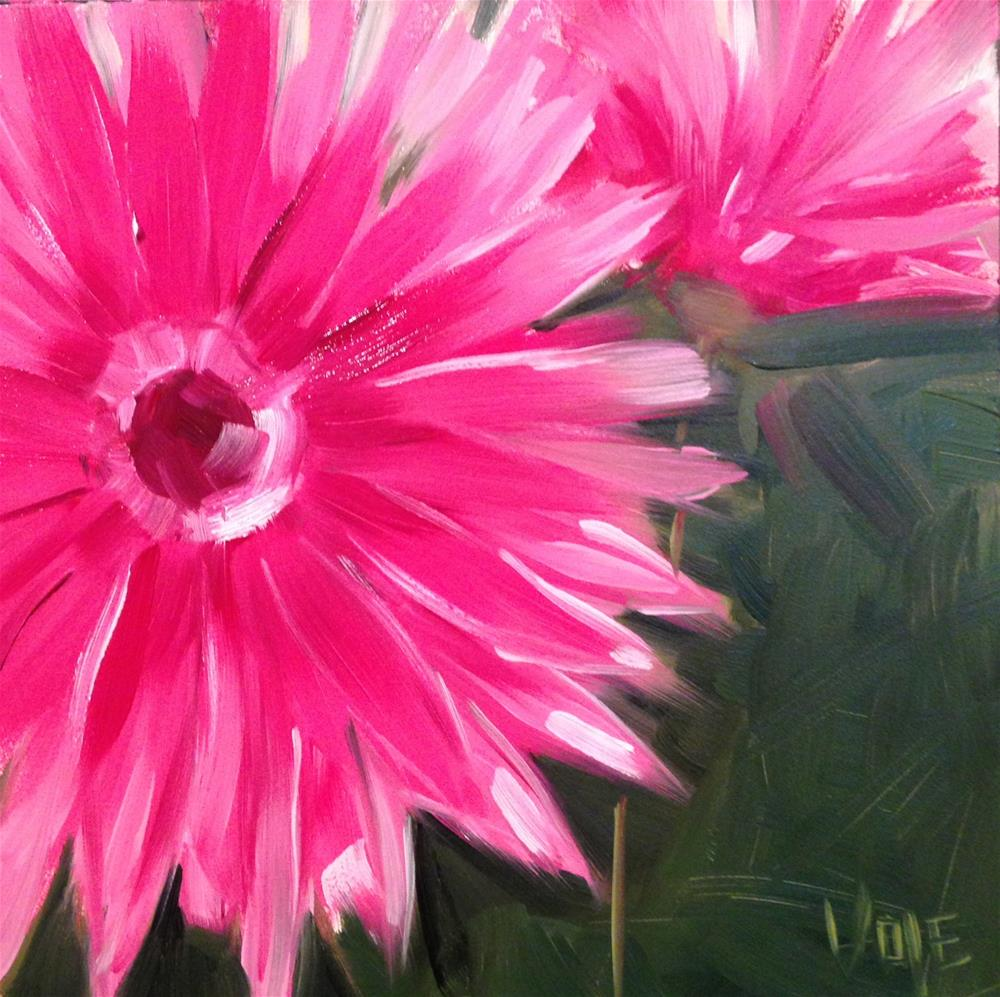 """#36 Pinkalicious"" original fine art by Patty Voje"