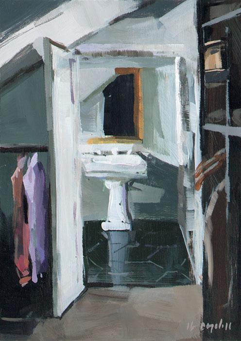 """""""Sink"""" original fine art by David Lloyd"""