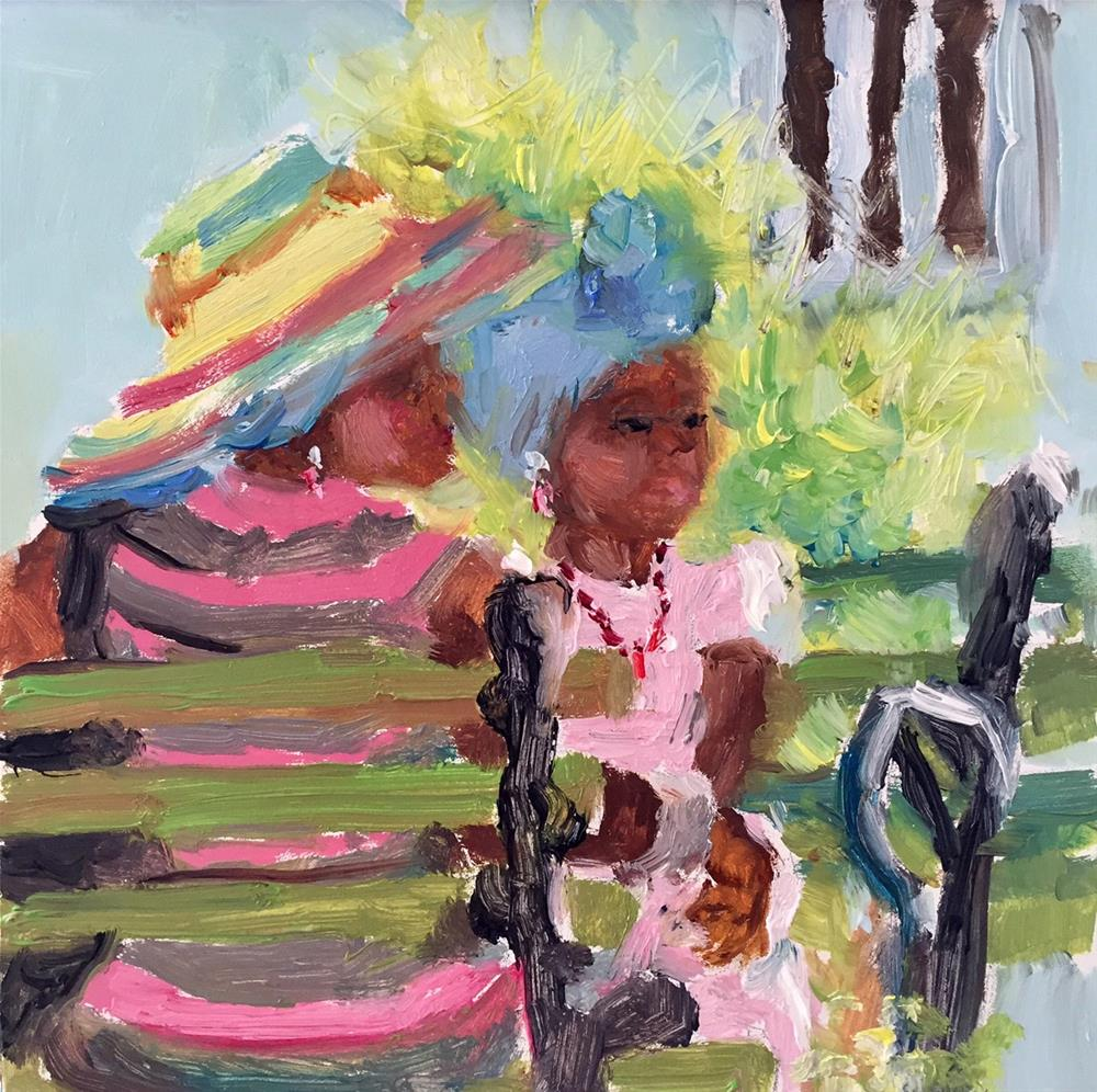"""Me and Mama"" original fine art by Marcia Hodges"