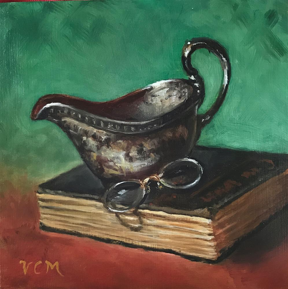 """Tarnished Treasures"" original fine art by Vana Meyers"