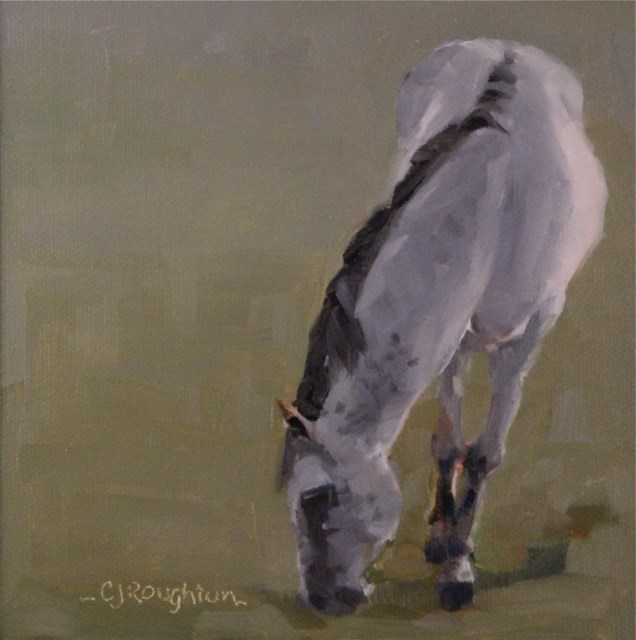 """Horsin' Around"" original fine art by C J Roughton"