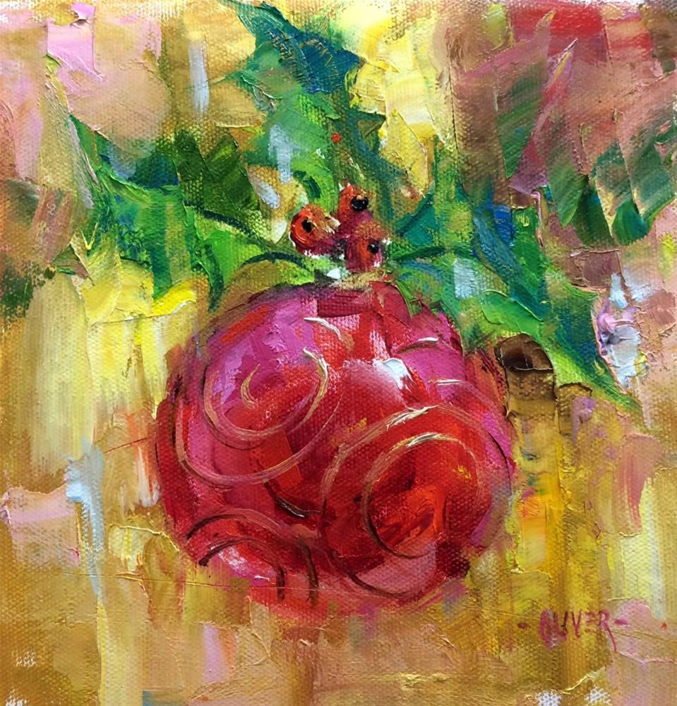 """""""'Tis The Season..."""" original fine art by Julie Ford Oliver"""