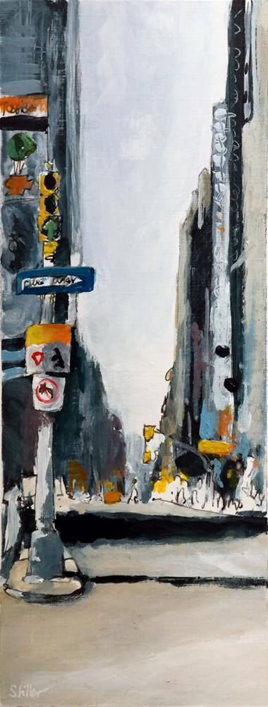 """2365 Times Square Part Two"" original fine art by Dietmar Stiller"