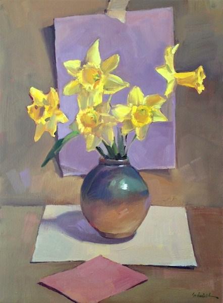 """Springtime Romance"" original fine art by Sarah Sedwick"